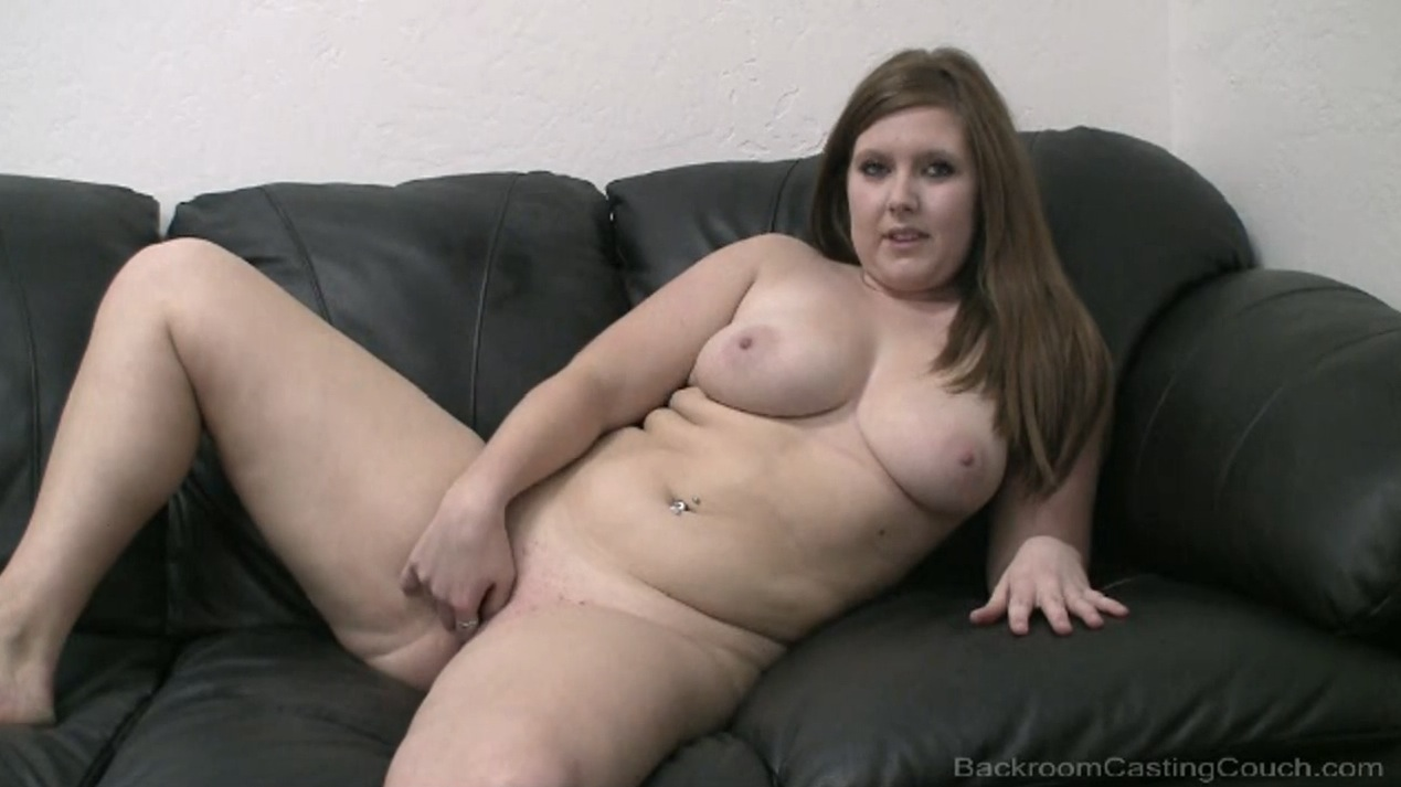 Backroom casting couch bbw